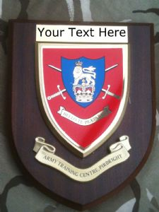 Army Training Centre Pirbright ATCP Personalised Military Wall Plaque